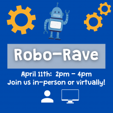 Things to do in Durham-Chapel Hill, NC: Robo Rave at Kidzu Children's Museum (In-Person or Virtual)