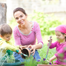 The Perfect Time to Grow a Family Garden