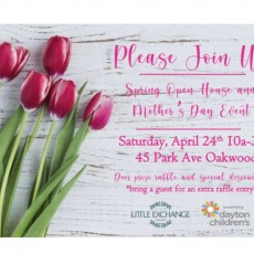 Spring Open House and Mothers day Event