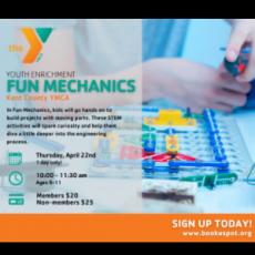 Warwick, RI Events: Fun Mechanics (ages 9-11)