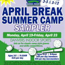 Things to do in Beverly-Newburyport, MA for Kids: DIScover April Vacation , Danvers Indoor Sports