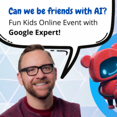Hulafrog at Home Events: Explore Artificial Intelligence with a Google Expert