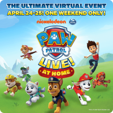 Things to do in Cape May County, NJ for Kids: Tune in for PAW Patrol Live! At Home, PAW Patrol Live!