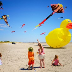 Cape May County, NJ Events: Wildwoods International Kite Festival *Hours Vary