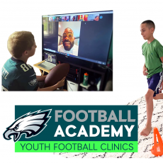 Things to do in Cape May County, NJ: Eagles Virtual Football Youth Clinic