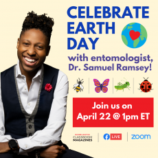 Celebrate Earth Day with Dr. Samuel Ramsey