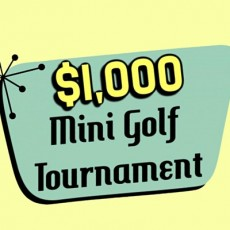 Cape May County, NJ Events: 3rd Annual $1,000 Mini Golf Tournament