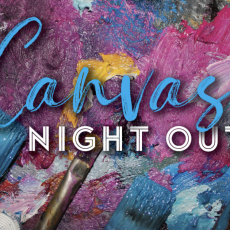 Canvas Night Out: Painting, Popcorn & a Movie {Ages 6+}