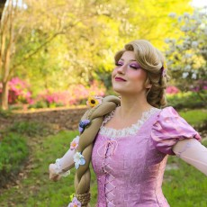Things to do in Charleston, SC for Kids: Rapunzel Paint & Play Visit, Curiouser Entertainment