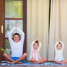 Enjoy Daddy & Me Yoga
