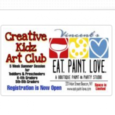 Creative Kidz Art Club: Summer Session