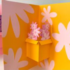 Things to do in Venice-El Segundo, CA: Create a Mother's Day Pop-Up Card