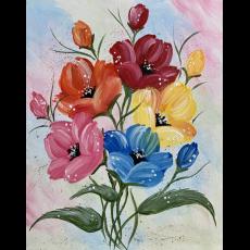 Wesley Chapel-Lutz, FL Events: In-Studio Paint Class - Eclectic Poppies