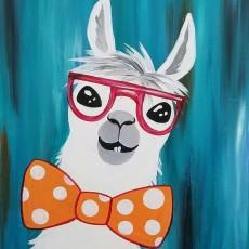 Wesley Chapel-Lutz, FL Events: In-Studio Paint Class - No Prob-Llama