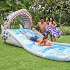 Intex Surf 'N Slide Splash Shark Play Center