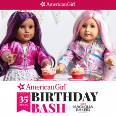 Things to do in Cape May County, NJ for Kids: Attend the American Girl Birthday Bash with Magnolia Bakery, American Girl