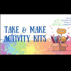 Warwick, RI Events: Take & Make Activity Kits