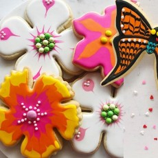 Spring Beauties Cookie Decorating Class at The Whitechapel Projects