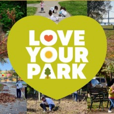 Love Your Park Day at Smith Memorial Playground