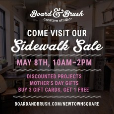 Mom's Day/Spring Sidewalk Sale