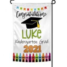 Personalized Graduation Yard Flag Sign