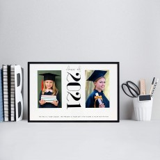 Class of 2021 Then & Now Picture Frame