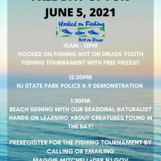 Things to do in The Brunswicks, NJ for Kids: Hooked On Fishing Not On Drugs Free Youth Fishing Tournament, Leonardo State Marina