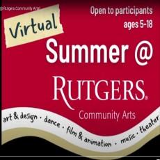 Virtual Summer @ Rutgers Community Arts