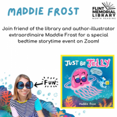 Things to do in Merrimack Valley, MA: Virtual Author Visit: Maddie Frost
