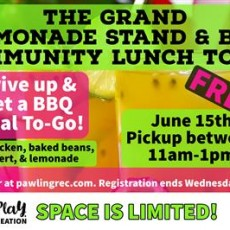 The Grand Lemonade Stand and BBQ Lunch To Go