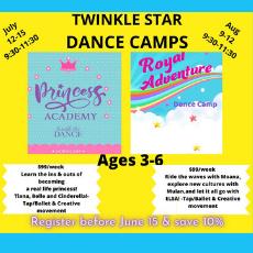 Princess Academy & Royal Adventure Dance