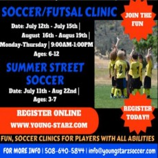 Soccer/Futsal Clinics & Street Soccer