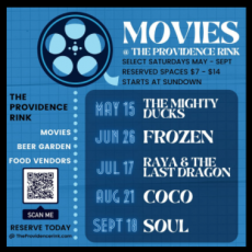 Warwick, RI Events: Movies @ The Providence Rink: The Mighty Ducks!