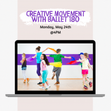 Things to do in Main Line, Pa for Kids: Creative Movement with Ballet 180, Paoli Library
