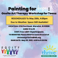 Things to do in Warwick, RI: Free Art Therapy Workshop (13 +)