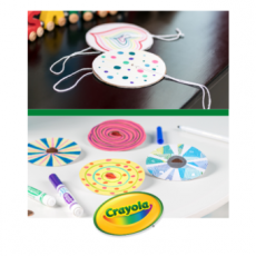 Things to do in Laurel-Columbia, MD: [National] Create Colorful Paper Spinners