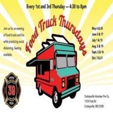 1st & 3rd Thursday Food Truck Nights