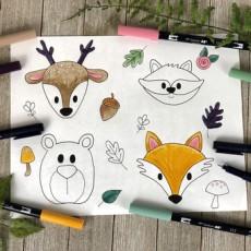 Draw Animal Doodles