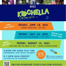 Things to do in Main Line, Pa for Kids: Kidchella 2021, Smith Memorial Playground & Playhouse