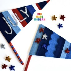 [National] Create Fourth of July Pennant Flags