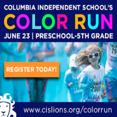 Things to do in Columbia, MO for Kids: Color Run, Columbia Independent School