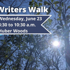 Red Bank, NJ Events: Writers Walk at Huber Woods