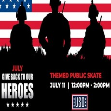 Give Back to our Heroes Open Skate