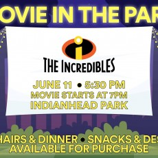 Movie in the Park: Incredibles