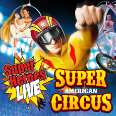 Things to do in Cape May County, NJ for Kids: Super American Circus, Showboat Hotel Atlantic City