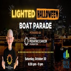 Lighted Halloween Boat Parade