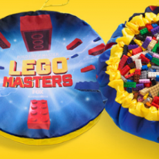 Free LEGO Masters Storage + Playmat