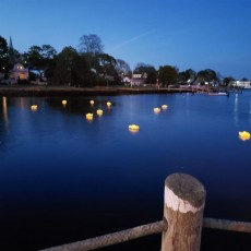 Things to do in Warwick, RI for Kids: Schools Out for Summer - Wickford Harbor Lights, I Love Wickford Village