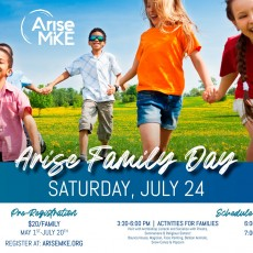 Things to do in Waukesha-Lake Country, WI for Kids: Arise Family Day, Arise Milwaukee