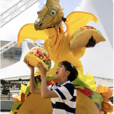Things to do in Olathe, KS for Kids: Live Outdoor Performance: Dragons Love Tacos {~50 min.}, Coterie Theatre